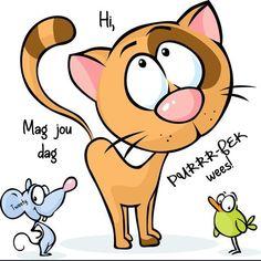 Lekker Dag, Goeie More, Afrikaans, Tweety, Winnie The Pooh, Good Morning, Boss Wallpaper, Disney Characters, Fictional Characters