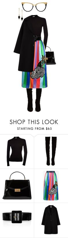 """things are looking up"" by bananya ❤ liked on Polyvore featuring Christian Louboutin, Tory Burch, Mira Mikati, Yves Saint Laurent and ALDO"