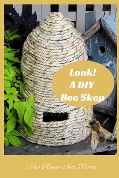 DIY Bee Skep