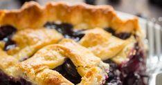 Blueberry Pie Recipe   Yummly Blueberry Pie Recipes, Butter Crust, Fruit Pie, Pie Crust Recipes, Vegetarian, Fruit Tart, Blueberry Cupcake Recipes, Fruit Cakes