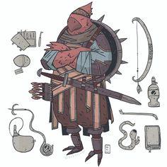 Zeek: A Birdman. DnD Commission  -  -  -  #dnd #commission #illustration #fantasy #characterdesign #roleplay #tabletop #drawingoftheday #costumedesign #art #digitalart #conceptart #comics