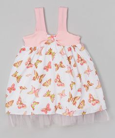 Love this Butterfly Babydoll Dress - Infant & Toddler on #zulily! #zulilyfinds