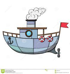 Navio Dos Desenhos Animados Ilustração Do Vetor - Baixe conteúdos de Alta Qualidade entre mais de 55 Milhões de Fotos de Stock, Imagens e Vectores. Registe-se GRATUITAMENTE hoje. Imagem: 38609702