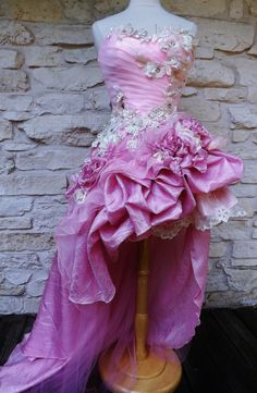 RESERVED for Marilou Handmade Wedding Dress Mini by Arabescque