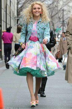 Cute dress with petticoat