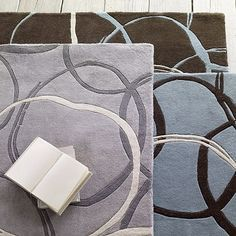 I love the Circles Rug on westelm.com AND it's on sale too!