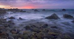 Ischia Forio la costa al tramonto - foto