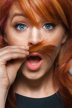 Most beautiful woman ever existed Lindsey Stirling. Beautiful Eyes, Most Beautiful Women, Best Violinist, Famous Women, Role Models, Red Hair, Redheads, Blond, Hair Makeup