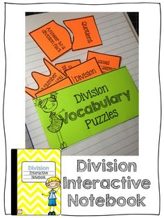 This Division Interactive Notebook is perfect for teaching and practicing the foundations of division! Thirteen different activities included!