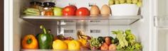 THE FRIDGE FILES If you open your fridge and food falls out, it's time for an update! Keep things tidy and inspire smart choices with these ideas: Store healthy snacks at eye level, pre-cut fruits and veggies, and enlist some stackable storage bins. Feeling ambitious? Stock your freezer with these cool tips. (FitSugar)