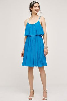 Tiered Cenote Dress - anthropologie.com