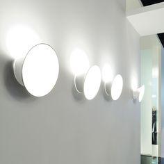 Ecran In LED Wall Lamp | LucePlan | Wall lamps | Lighting | AmbienteDirect.com