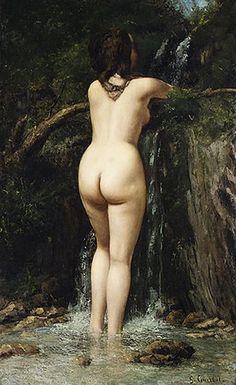 La Source, par Gustave Courbet