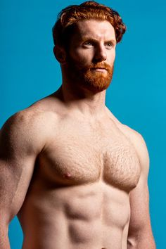 Homo sapiens gingerus - male