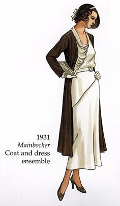 1931 Mainbocher Coat and Dress