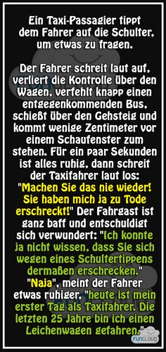 Der neue Taxifahrer - Witze des Tages 18.06.2015 | Funcloud