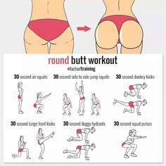Round buttocks