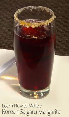 Korean Salgaru Margarita Recipe