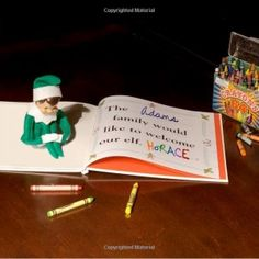 FAMILY Our elf, Happy, is bringing a friend this holiday season, and his story book is just a little bit different from the original Elf on the Shelf story...