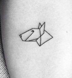 simple dog tattoos - Google Search