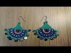 küpe takı yapımı (örgü )   DIY - YouTube Thigh Tattoo Quotes, Needle Tatting Patterns, Dragon Tattoo For Women, Textiles, Crochet Videos, Traditional Tattoo, Crochet Earrings, Diy Earrings, Crochet Baby