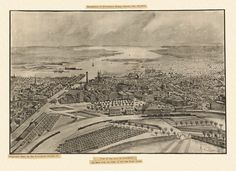 Old Map of Providence Rhode Island 1896 Providence County Poster