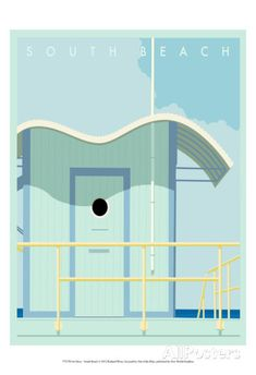 Art Deco-South Beach Prints by Richard Weiss at AllPosters.com