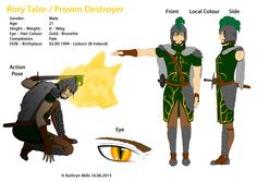 Proven Destroyer is currently in possession of the Beast Blood Band, a legendary item in the game world, giving him control over the Golden Wolf. After meeting King and True, the three of them create the Valiant guild, with Proven being voted as leader. Proven is very determined and thoughtful, but can become distracted and even nervous. Golden Wolf leads Proven through dangerous areas and wars him of danger. When in harsh battle, Wolf becomes part of him, giving him added strength and…