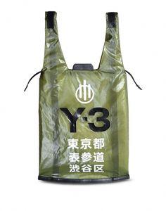 Yohji Yamamoto partnered with adidas to bring you designer sports fashion from the East. Y3 Bag, Denim Armband, Mens Tote Bag, Men's Totes, 2 Logo, Bags Online Shopping, Shopper Bag, Fashion Branding, Luxury Handbags