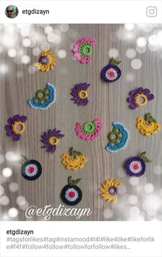 This post was discovered by Şe Knitting Projects, Crochet Projects, Baby Patterns, Crochet Patterns, Animal Party, Crochet Flowers, Bandana, Needlework, Diy And Crafts