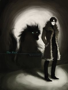 The Grey Wolf by Heylenne on DeviantArt