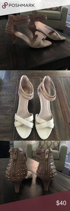 """Vince Camuto Takers Heel Shoe NWT. In the original box.                                                               Heel is approx. 3"""" Leather upper, manmade sole. Vince Camuto Shoes Heels"""