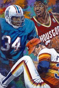 """""""Houston 34 Redux"""" by Robert Hurst"""