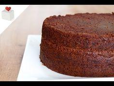 Receta de Bizcocho de Chocolate sin Huevo - Azúcar con Amor