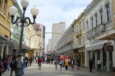 Florianópolis (SC), Brasil - Calçadão da Rua Felipe Schmidt
