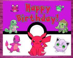 Imágenes de Tarjetas de cumpleaños de pokemon