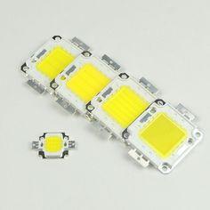 Haute puissance Led Puce Ampoule 10 W 20 W 30 W 50 W 100 W Complet watt 35 * Epistar SMD Intére D'inondation en plein air pelouse lampe