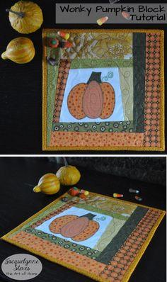 Free Pumpkin Block Pattern