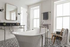 Image result for modern traditional bathroom.