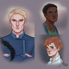 Matthias, Jesper & Wylan