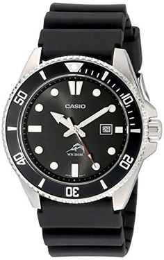 Looking for Casio Men's Black Analog Anti Reverse Bezel Watch ? Check out our picks for the Casio Men's Black Analog Anti Reverse Bezel Watch from the popular stores - all in one. Rolex Submariner, Amazing Watches, Cool Watches, Watches For Men, Wrist Watches, Black Watches, Simple Watches, Trendy Watches, Pocket Watches