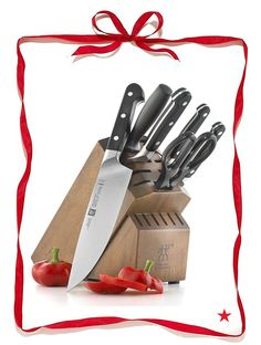 Need a little something special for the cook in your family? Zwilling's J.A Henckels Pro Cutlery 9-piece set is a cut above the rest