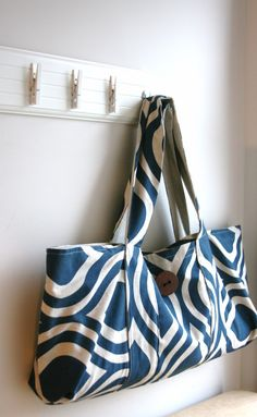 Yoga bag sew along tutorial