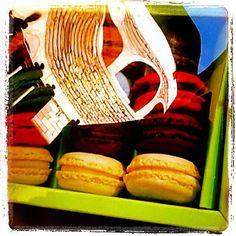 Reflejos y #macarons