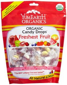 is made with real fruit extracts, dairy free, nut free, soy free, no artificial colors and dyes. Organic Fruit Snacks, Organic Candy, Ice Chips Candy, Dairy Free, Nut Free, Organic Recipes, Healthy Drinks, Fresh Fruit