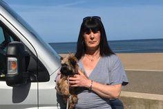 Dog walker said she felt like a criminal after driving to beach for a walk