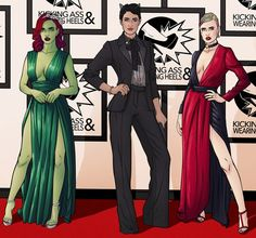 POISON IVY / CATWOMAN / HARLEY QUINN