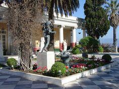 Achilleion Palace Gardens Corfu, Greece