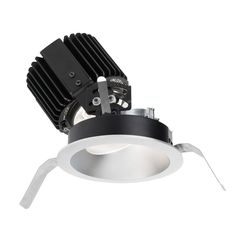 "WAC Lighting R4RAT-S Volta 4.5"" Round Adjustable Trim with LED Light Engine and"