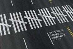 8 Creative Pedestrians Crosswalk Ads | Urban Crosswalks ... Art For Change, Pedestrian Crossing, Urban Intervention, Floor Graphics, Floor Decal, Street Painting, Best Ads, Z Arts, Parking Design
